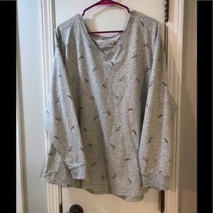 Sonoma V-neck Sweatshirt 2X